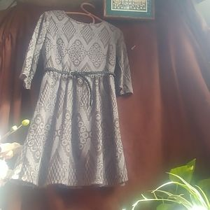 NWT Speechless sweater dress with belt